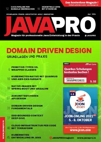 JAVAPRO Ausgabe 1-2021