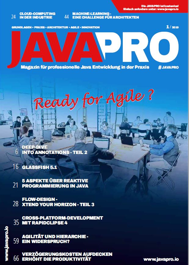 JAVAPRO 01/2019 - Ready for Agile?