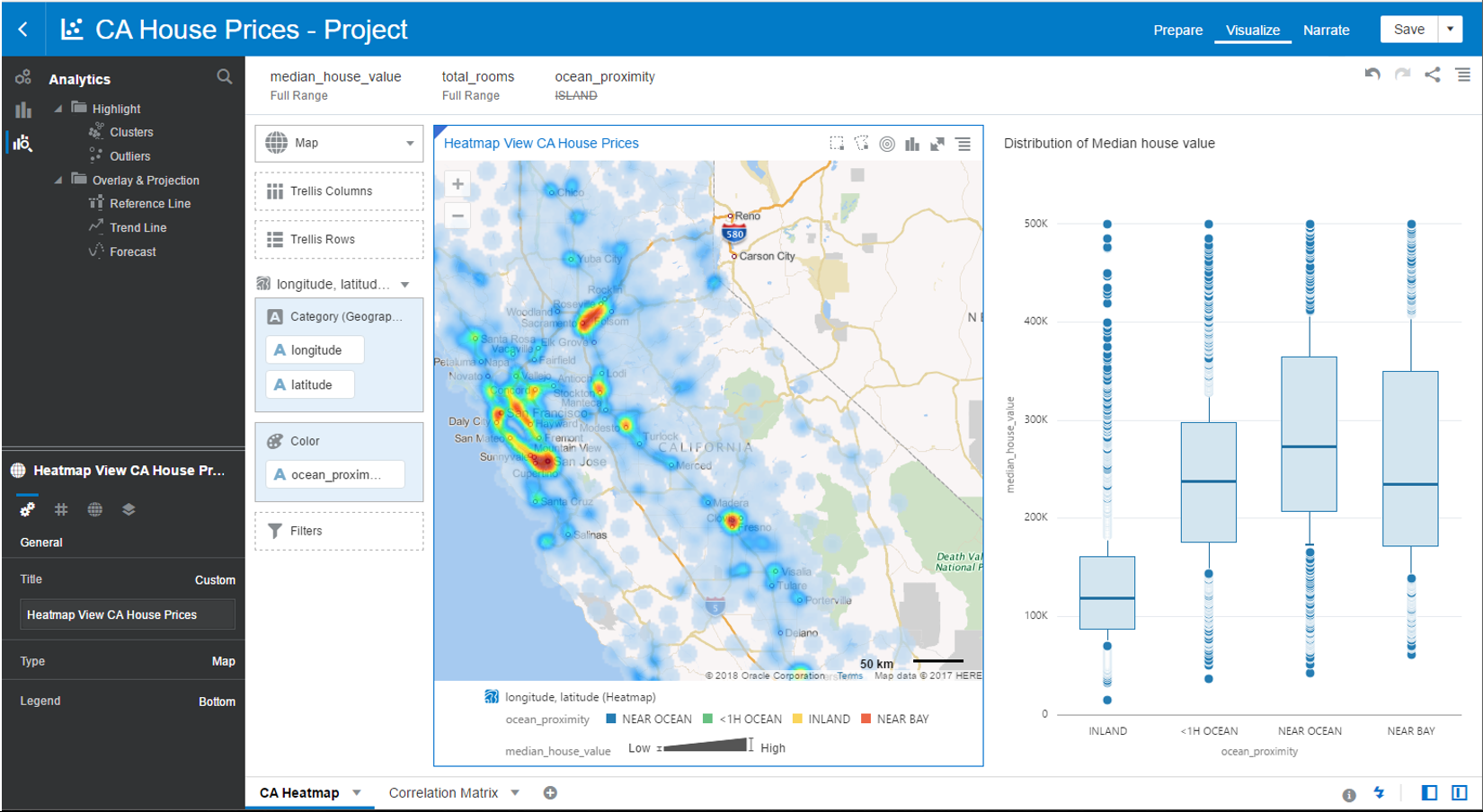 Datenexploration leicht gemacht für Fachanwender mit Oracle-Data-Visualization. (Abb. 6)